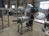 Maalmachine en Juicer van het Verse Fruit van het Roestvrij staal 500kg/H van het voedsel de Sanitaire
