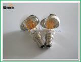 ミラーA60 E27 LEDのフィラメントの球根ライト4W 6W 8W Dimmable 220V 110V