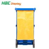 Hotel carrinho de limpeza doméstica com sistema Espremedor