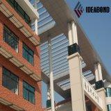 Доска сандвича Ideabond алюминиевая для украшения экстерьера школы