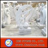 Escultura abstracta tallada del granito de piedra natural