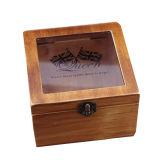 Деревянная Подарочная упаковка крышку стекла окна деревянные упаковки