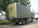 Sinotrukのブランドの新鮮な果物は冷やされていたトラックを運んだ