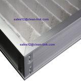Armazón de aluminio con pliegues Filtro de aire para aire acondicionado