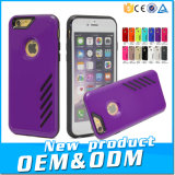 La fábrica de productos al por mayor Funda de doble capa para el iPhone 6/6s