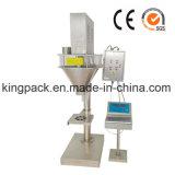 Máquina de enchimento automática do eixo helicoidal do pó para pós secos dos agentes do pó/coloração dos cosméticos do pó/pó de dente/pó de Talcum