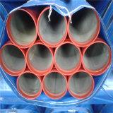 Resíduos explosivos de tubo de aço soldado pintadas para proteção contra incêndio