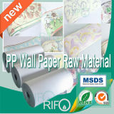 Gravure Flexible Printable Paper Synthetic para papel de parede Eco BOPP