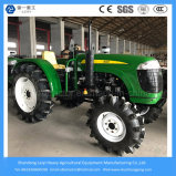 4WD 55HP Electric Start Farm / Mini / Small / Power / Agricultural / Tracteur à gazon avec Paddy Tire