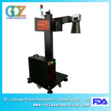 машина маркировки лазера волокна 30W Ylpf-30b с лазером волокна Ipg для трубы, пластмассы, PVC, PE и неметалла