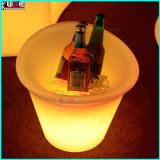 Benna illuminata plastica del contenitore di ghiaccio del contenitore della casella del dispositivo di raffreddamento del LED