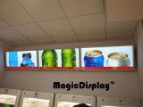 LED de aluminio pantalla bebida el Restaurante Publicidad