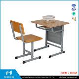 Mesa da escola do baixo preço e cadeira moderna barata/mesa e cadeira ajustáveis da escola