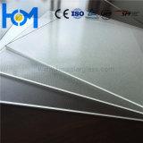 3.2mm moderou o vidro ultra desobstruído super do painel solar do branco do arco liso