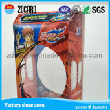 Самая лучшая продавая напечатанная коробка пластичный упаковывать любимчика прозрачная