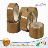 Cinta de acrílico a base de agua del embalaje de Brown BOPP