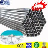 Mit kleinem Durchmesser kaltgewalztes helle Oberflächenmöbel-Stahlrohr