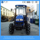 China 70HP Agricultural / Small Garden / Mini Tractor agrícola com arado e reboque