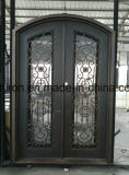 ファクトリー・アウトレットの鉄のガレージのドアおよび鉄の出入口