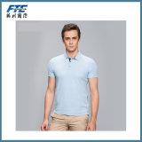 T-shirt do polo da venda por atacado da camisa de polo do algodão com logotipo de UR