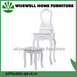 Mobiliário moderno em madeira Penteadeira com fezes (W-HY-025)