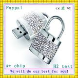 avec lumière LED USB cristal USB Flash Drive (GC-D001)