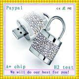 con Flash Drive Cristal USB Luz LED USB (GC-D001)