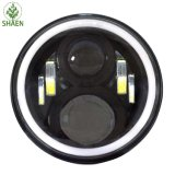 L'indicatore luminoso dell'automobile di prezzi di fabbrica IP67 LED impermeabilizza 7 '' rotondi per la jeep