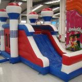Inflatabler kundenspezifisches Plättchen in im Freien