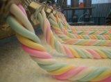 Verdrängten Eibisch-Maschinen-Süßigkeit-Maschinen-Nahrungsmittelmaschinen-Baumwollhersteller mit Cer ISO9001 (EM120) beenden