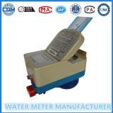 Medidor de água pré-pago inteligente IC / RF do medidor de água