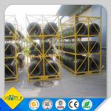 Настраиваемые стали склад для хранения шин для установки в стойку