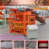 Novas Máquinas de tijolo oco Qtj4-26 máquina para fabricação de tijolos de cimento