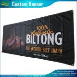 カスタマイズされた屋外のハングの広告の屈曲PVCビニールの旗(J-NF26P07015)