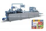 Dzp-400f Automatict Flat Cardboard Plastic Hot Sealing Packing Machine