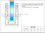 ألومنيوم زجاجيّة درابزون قطاع جانبيّ لأنّ درابزون ([أب]. 703. [أل])