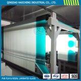0,76 mm verde sombra PVB película para el cristal del parabrisas de automóviles