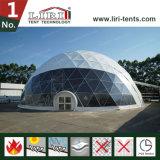 De reuze Tent van de Koepel van de Tent van de Bol Geodetische met de Waterdichte Dekking van pvc