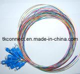 Núcleo de 12sc/UPC en espiral de fibra óptica de 3m