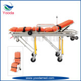 Aluminiumlegierung-Emergency Gebrauch-Krankenwagen-Bahre