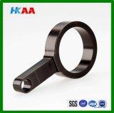 Pieza que muele del CNC del aluminio, bloque de extremo de aluminio del CNC que muele
