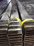 Formato rettangolare 200X50X8mm del tubo d'acciaio per l'applicazione di industria della macchina