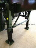 30cbm 3 scaricatore pratico del rimorchio del ribaltatore di figura dell'asse U da vendere