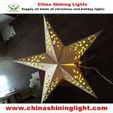 Christmas Holiday PartyのためのDIY Paper Star LED Decorative Light