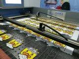 Máquina de corte automática de rastreamento de borda de tela impressa