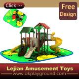 Équipement de terrain de jeux de plein air agréable coloré (X1222-2)