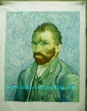 Handmade Van Gogh Portrait Olieverfschilderij voor de Decoratie van het Huis