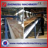 Ligne de marbre décorative de marbre décorative d'extrusion de feuille de la chaîne de production de feuille de PVC de Consuption de faible puissance/PVC