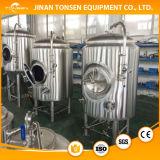 Serbatoi industriali di fermentazione della birra con isolamento