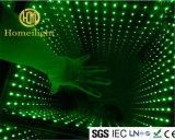 ディスコ党LED 3Dミラーの地獄のダンス・フロア